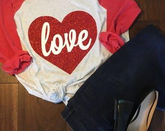 Valentines Shirt, Valentine Shirt, Love Shirt, Valentines Day, Valentines Day Shirt, Heart Shirt, OnHeavenlyLane