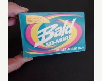 30% OFF SALE Bald No More Soap Vintage Gag Gift NOS 1987
