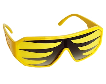Rasslor Yellow Wave Sunglasses