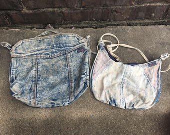 Vintage Denim Purses