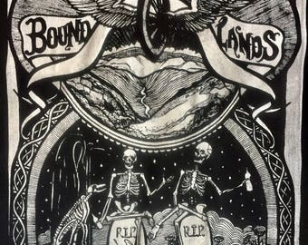 Bound for the Happy Lands Back Patch