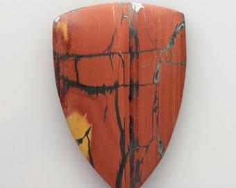 Indian Paint Stone Cabochon