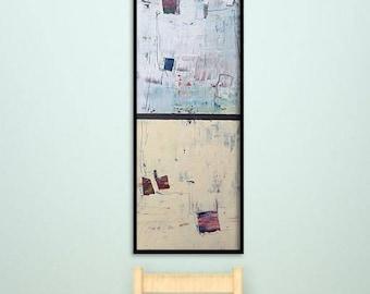 40x16 Inch Original Abstract Painting. Original acrylic art. Abstract Painting. Canvas Painting. Wall Art. Canvas art