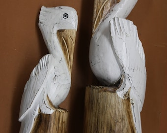 Unique Pelican Collector Gift, Hand Crafted, Free Shipping, P1-P2