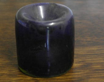antique find glass ink well