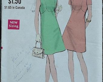 25%off Sizzlin Summer Sal Vogue 7741 1970s 70s Mod Mini Dress Vintage Sewing Pattern  Size 10 Bust 32.5