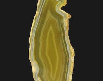 1 AGATE Pendant - 77x28x5mm - COD3006