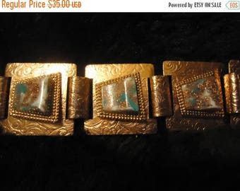 Now On Sale Vintage Copper Bracelet 1950's 1960's Collectible Rockabilly Mad Men Mod Jewelry Accessories Mid Century