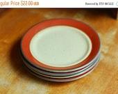 50% OFF SALE / vintage Mikasa Bob Van Allen mid century japanese stoneware plates