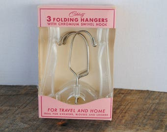 Vintage Celebrity Folding Hangers in Original Package 1959