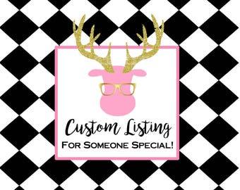 Custom Listing for ashly