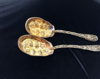Vintage Godinger Berry Spoons