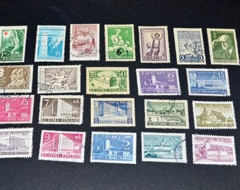 Finland 68 stamps very fine condition