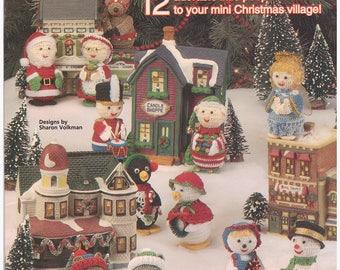 Crochet Pattern Crochet Christmas Decorations Christmas Village