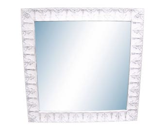 Torches 4.5 Tin Framed Cove Mirror - Larger Sizes