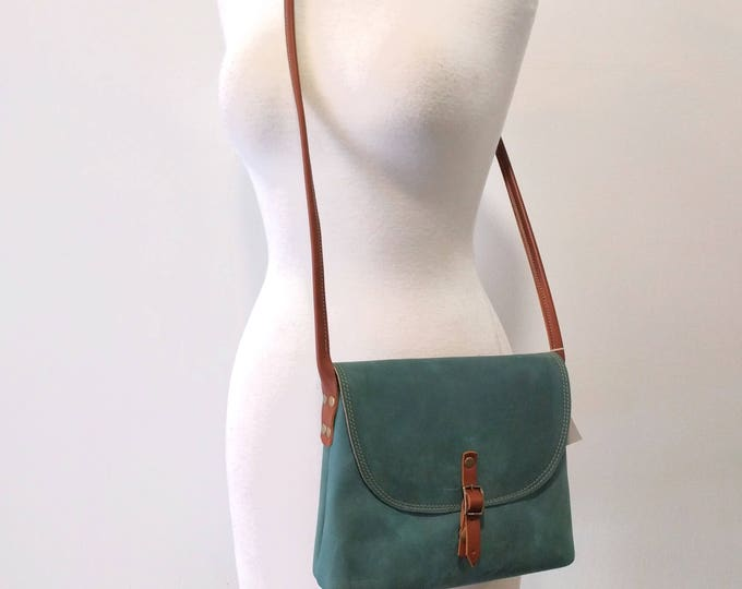 KARINA crossbody leather bag