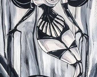 Goth - original painting