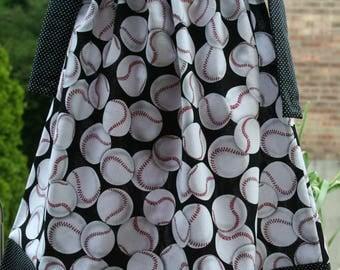 baseball pillowcase dress, Pillowcase Baby Girl Photography Prop Birthday Party Beach Dress