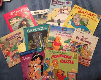 TEN soft cover Children's book covers for crafting - Set 2