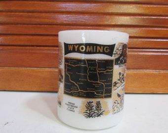 Federal Wyoming Souvenir Coffee Cup Mug