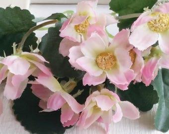 8 cm Forest Series butterfly orchid Silk Flower/ Artificial Flowers/wedding/ Flower crown /Flower Bouquet/ Brooch/Hat /Shoe accessories(t.a)