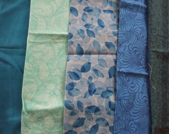 Fabric Remnants - The Blues collection