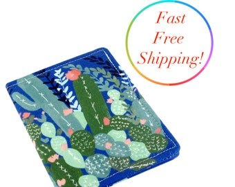 Cactus Wallet, Woman's Wallet, Travel Wallet, Minimalist Wallet, Credit Card Holder, Credit Card Wallet, Wallets For Women