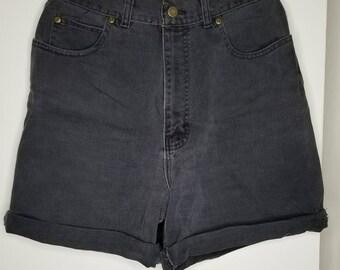 Northwest blue highwaisted jean shorts