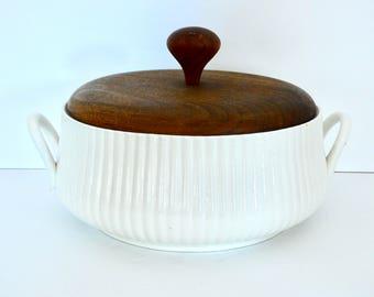 Large Mid Century Ernest Sohn Casserole Dish- MoMA