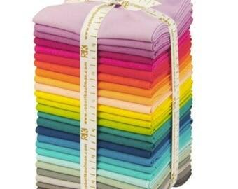 Kaufman - KONA - Elizabeth Hartman Designer Palette - Fat Quarter Bundle