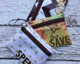 Kids Arrow Cash Budgeting, Spend Save Give Set