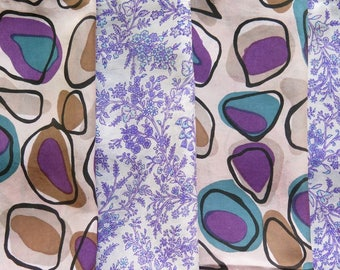 Fat Quarters, Silk Fabric, Sari Silk, FQ 24