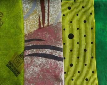 Fat Quarters, Silk Fabric, Sari Silk, FQ 70
