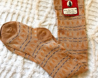 RARE > 1920s Printed Stockings by Ser Val • NOS • Mint Condition
