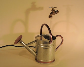 Small Watering Can Fountain