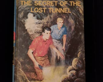 Vintage 1968 Hardy Boys The Secret of the Lost Tunnel #29