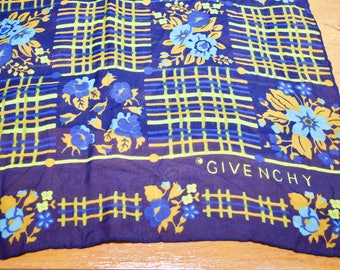 Vintage Givenchy Sheer Silk Long Scarf