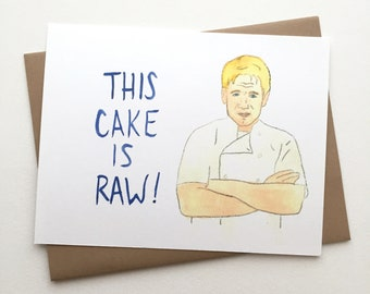 Funny Birthday // Gordon Ramsay Birthday Card