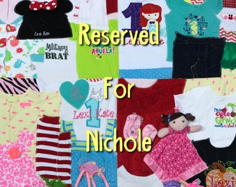 Memory Quilt ~ Reserved for Nichole