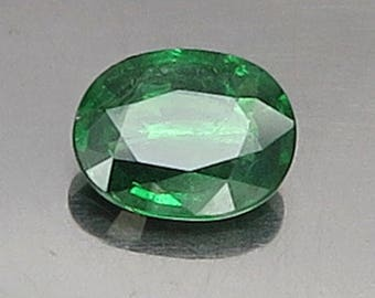 1.33 Ct Natural Green Garnet Tsavorite Unheated