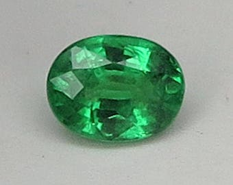 1.18 Ct Natural Green Garnet Tsavorite Unheated