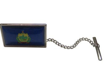 Vermont State Flag Tie Tack