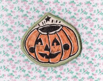 Pumpkin handmade patch