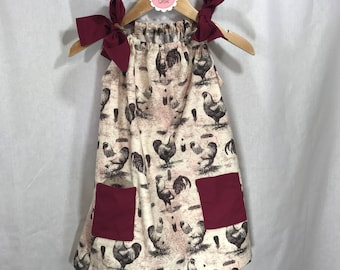 Chicken/Rooster Dress