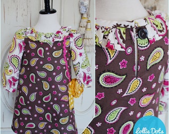 FLASH SALE // Paisley Purse Dress