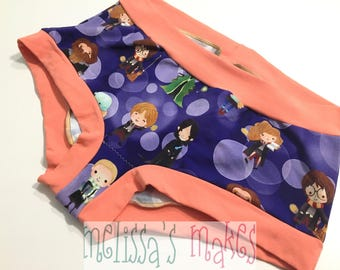 L HP Characters Undies - Underwear - Scrundies - Womens Underwear - Womens Panties - Boy Shorts - Womens Undies - Size Large - Scrundlewear
