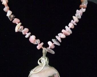 Lovely Rhodochrosite Necklace