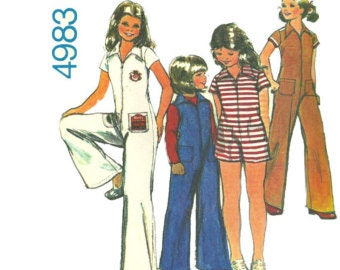 Retro 1976 MCCALL'S Sewing Pattern 4983