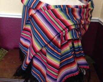 Sarape shawl/rebozo