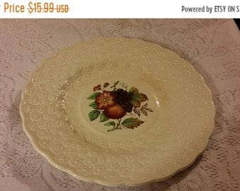 ON SALE Vintage Copeland Spode Luncheon Plate Alden Pattern #4 - Made in England